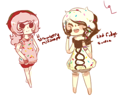 Pop tart girl adopts! by hanecco