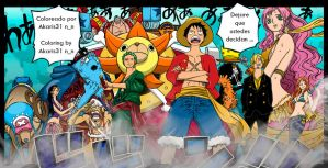 One Piece 633 The Mugiwaras by Akaris31