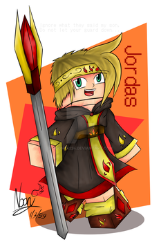 Jordas - The Fire Mage by NoonyX224