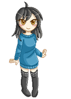 Pixel for Mer :3 by Kyaira-su