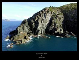 Cyprus Rocks - Framed by clint-beukes