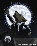 Howling at the Disco Moon by WanderingBert