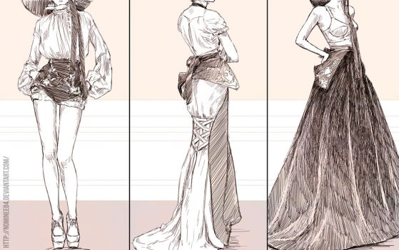 Study: Fashion 4 by nominee84