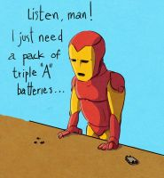 Iron Man attempt 1 - 2 by Djervig