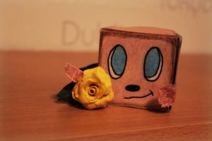 Origami (tiny Box Tim ) by MarinaX93