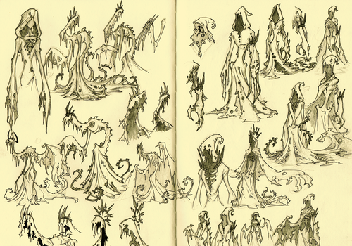 Sketchdump - Yellow Pages by HallowGazer
