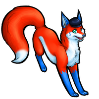 chainedfox by soulwithin465