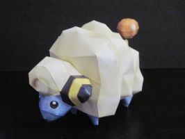 Mareep Papercraft by PrincessStacie