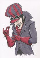 Dick Dastardly by MikimusPrime