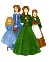 Little Women by charlotte-rhubarb