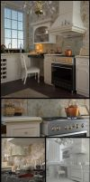 Neoclassic Kitchen by xsekox