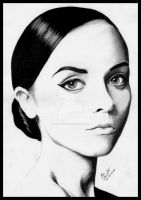 Christina Ricci by Pencil-Stencil