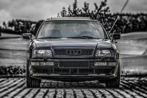 My Audi Coupe Frontview by MC-Gun