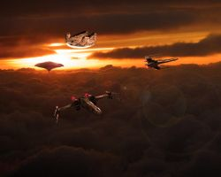 Cloud City Task Force by 1darthvader