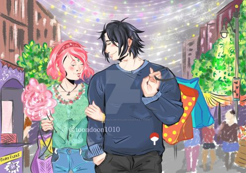 SasuSaku by toondoon1010
