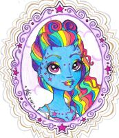Rainbowdash inspired entry by DeiPie