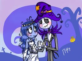 The King And His Bride by DarkChocolateCandy