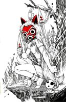 Princess Mononoke by olivernome