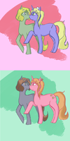 usuk ponies by JessicaBlood