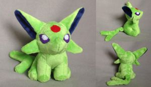 Espeon plush by Plush-Lore