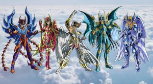 Saint Seiya - Armature empiree by FaGian