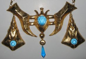 Twilight princess Zelda belt by Sailor-Moon-stuff