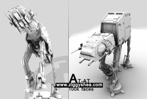 AT-AT Semi-Final by 3DFunkee