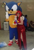 Me and Sonic by MeglifKaddy