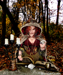 Autumn Witch 20 by MorganCrone