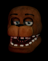 Withered Freddy WIP by GaboCOart