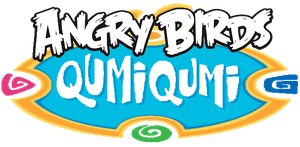 Angry Birds Qumi Qumi Logo by jared33