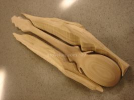 Wooden Spoon 3 by Uroscion