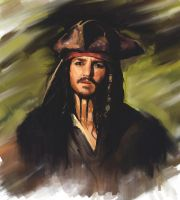 Jack Sparrow by kefirchik
