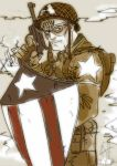 Captain America color by scarecrowhassan