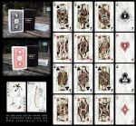 Dead Kings Playing Cards by Terraldo