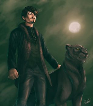 Vex and Mark by MistressAinley