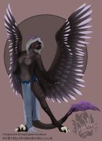 Asphyxiacreations - Iron Artist Pinup by IndiWolfOnline