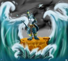 Ultimate Power Showcase: Wrath of Seas by evosthunder
