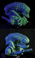 H.R. Giger's Alien by PTimm
