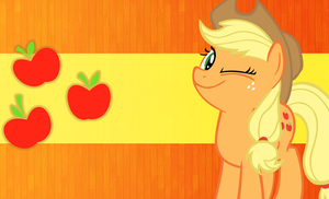 Applejack wallpaper by mayosia