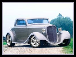 1934 Chevy Coupe by puddlz