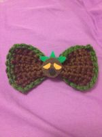 Deku Mask Inspired Bow by Raychull7