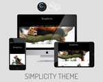 Simplicity ~ Premium Tumblr Theme by ClearStyle