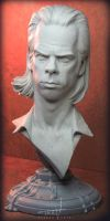 Nick Cave Bust 002 by TrevorGrove