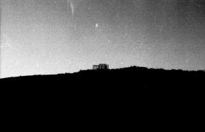 temple of Poseidon, Sounion by foxagent