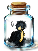 Nameless in a Bottle by Moon-Path