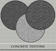 Concrete Textures by allison731
