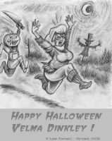 Happy Halloween Velma Dinkley. by Lord-Foxhole