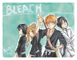 Bleach: It's Clorox. by ember-snow