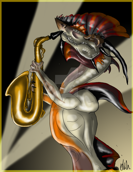 Epic Sax Dragon by PteraDragon